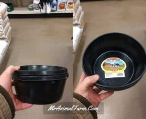 rubber water bowls