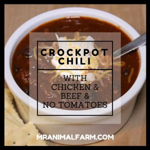 Crockpot Chilli