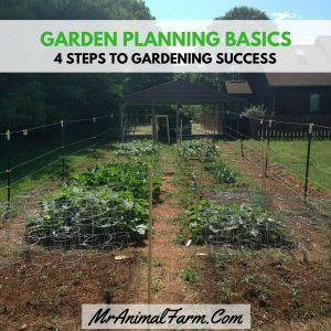 Four Garden Planning Basics
